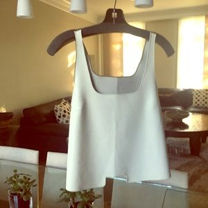 pleather top dress up or down gem !...